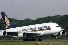 Dampak Corona, Singapore Airlines Kandangkan 138 Unit…