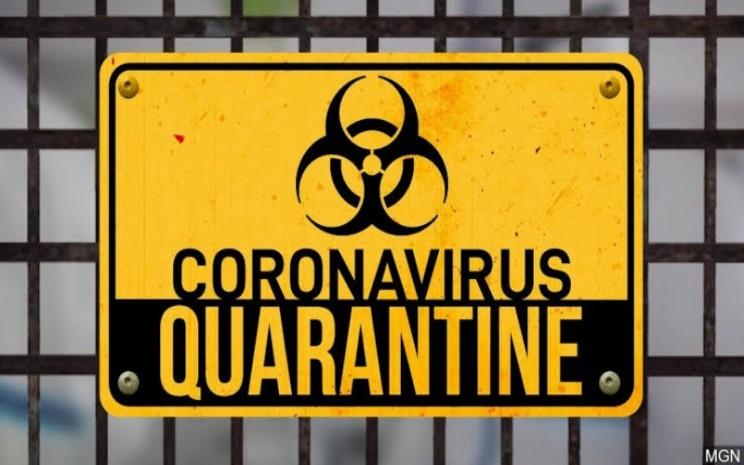 Ilustrasi karantina virus corona - istimewa