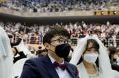 Tak Ada Kemeriahan, Kisah Pesta Pernikahan di Tengah Pandemi Global