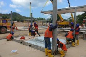 Sudah 70 Persen, Fasilitas RS Darurat Corona Pulau…