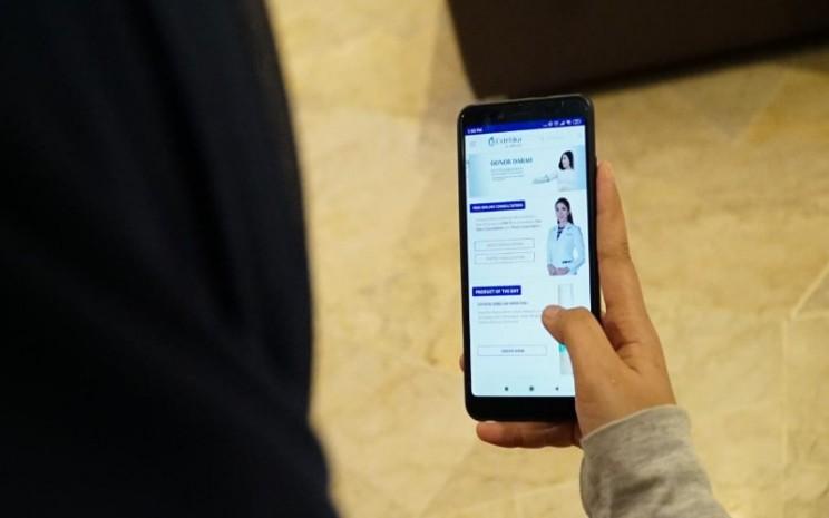 Aplikasi konsultasi kecantikan -