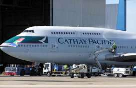 Imbas Corona, Penerbangan Cathay Pacific Berkurang 96 Persen