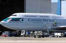 Imbas Corona, Penerbangan Cathay Pacific Berkurang…
