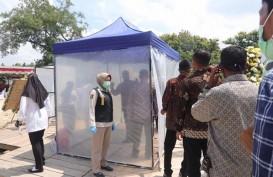 Antisipasi Corona, Pelayat Ibunda Jokowi Lakukan Tes Kesehatan