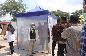 Antisipasi Corona, Pelayat Ibunda Jokowi Lakukan Tes…