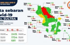 2.498 Orang Dalam Pemantauan Covid-19 di Sulawesi Tenggara