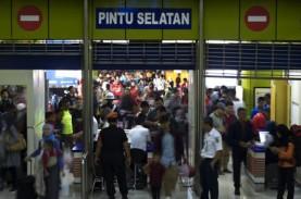 28 Jadwal KA dari 3 Stasiun di Jakarta Dibatalkan…