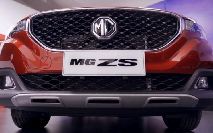 Tampilan depan MG ZS dalam peluncuran virtual - MG Virtual Launch/MG Motor Indonesia.
