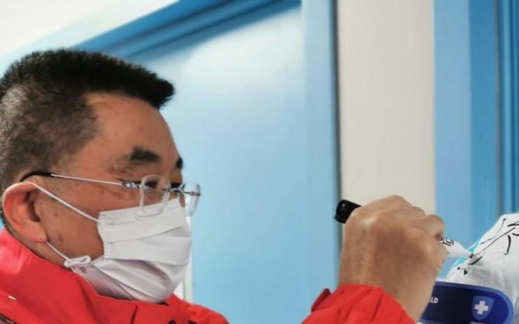 Dokter Xiang Lu, salah satu dari ribuan dokter di China yang memerangi Covid/19 (sumber: unitednation.org)