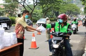 1.000 Nasi Kotak untuk Ojol di Semarang Terserap Habis