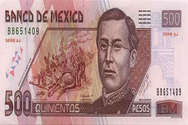 Mata uang Meksiko - Istimewa