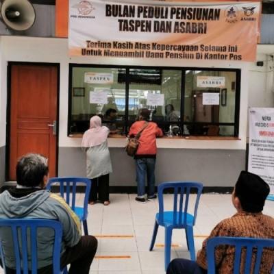 Pembayaran Gaji Pensiun Pos Indonesia Terapkan Protokol Kesehatan