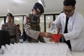Unud Targetkan Produksi 10.000 Liter Bio-Hand Sanitizer