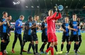 Liga Belgia Dihentikan, Club Brugge Unggul 15 Poin, Pasti Juara