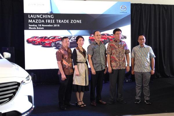 Pembukaan Dealer Mazda di Batam.  - Eurokars