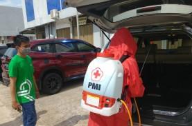 Libatkan PMI, 100 Taksi Grab Kota Batam Disemprot…
