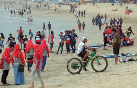 Akses Masuk ke Pantai Kuta Ditutup Cegah Penyebaran Corona