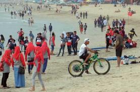 Akses Masuk ke Pantai Kuta Ditutup Cegah Penyebaran…