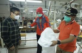 Produsen Garmen di Malang Banting Setir Produksi APD