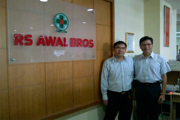 Logo Rumah Sakit Awal Bros - Istimewa