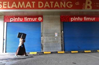 Pasar Jaya Klaim Tak Ada Transaksi Di Arealnya di Pasar Tanah Abang