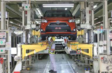 Terdampak Corona, Penjualan Toyota Maret 2020 Anjlok 37,9 Persen