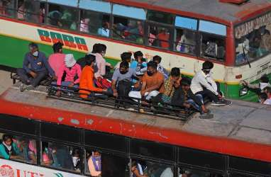 Ekonomi India Mandek Akibat Lockdown, Pengangguran Naik 23 Persen