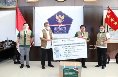 Tanoto Foundation Donasi APD Dukung Gugus Tugas Hadapi Virus Corona