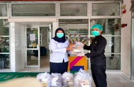 CRG Salurkan Sumbangan Makanan untuk Tenaga Medis