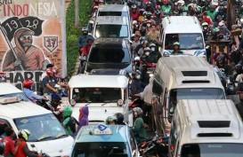 BERITA FOTO : Jelang Penerapan PSBB, Jalanan Ibu Kota Kembali Macet