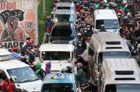 BERITA FOTO : Jelang Penerapan PSBB, Jalanan Ibu Kota…