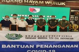 Yayasan Buddha Tzu Chi Serahkan Bantuan ke Kodam V/Brawijaya