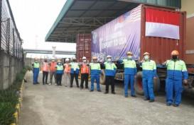 Tata Metal Lestari Ekspor Perdana Baja Lapis