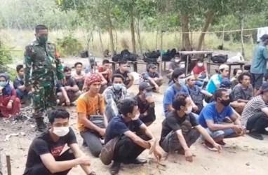 53 TKI Pulang dari Malaysia Lewat Pelabuhan Tikus