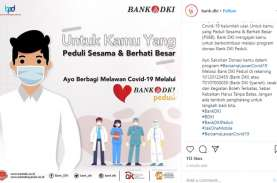 Bank DKI Ajak Warga Jakarta Berdonasi Lawan Covid-19