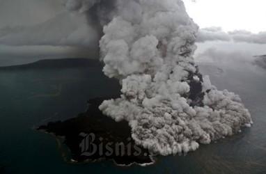 PVMBG: Suara Dentuman Viral di Medsos Bukan dari Erupsi Anak Krakatau
