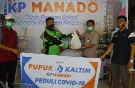 Pupuk Kaltim Salurkan Bantuan Antisipasi Covid-19 di Manado