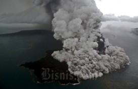 Gunung Anak Krakatau Erupsi, Letusan Terjadi Hingga Sabtu Pagi