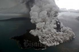 Gunung Anak Krakatau Erupsi, Letusan Terjadi Hingga…