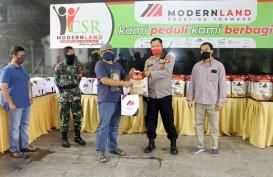 Modernland (MDLN) Salurkan Bantuan Masyarakat Terdampak Virus Corona