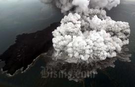 Gunung Anak Krakatau Erupsi, BMKG: Lebih Lemah dari Desember 2018