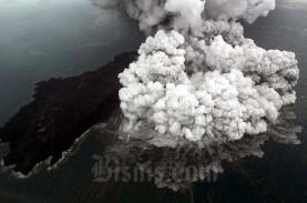 Gunung Anak Krakatau Erupsi, BMKG: Lebih Lemah dari…