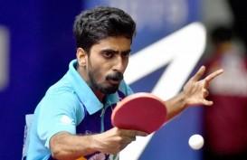 Jaga Kebugaran, Atlet Tenis Meja Asal India ini Latihan Lawan Robot
