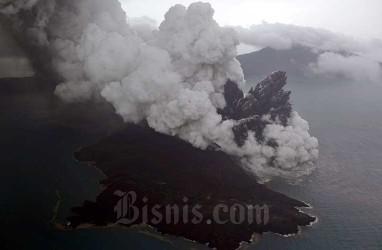 Dampak Erupsi Gunung Anak Krakatau Tidak Sampai ke Jawa dan Sumatra