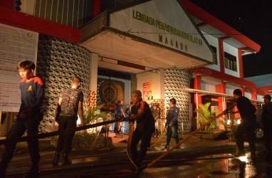 Kerusuhan Lapas Tuminting Manado Disebabkan Napi Narkoba Minta Dibebaskan