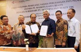 Modernland (MDLN) Raup Laba Bersih Rp409,60 Miliar, Melonjak 1.500 Persen