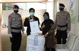 Hartadinata Abadi Donasikan Masker Kain dan APD