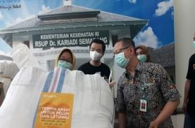 RSUP Kariadi Semarang Terima Bantuan APD Senilai Rp500…