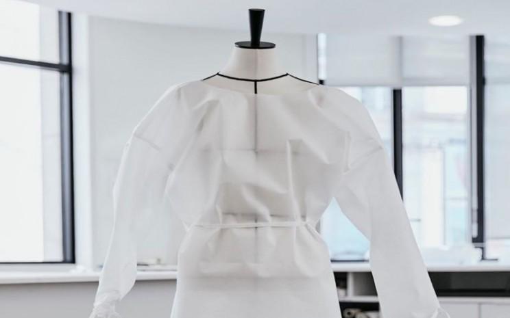 Louis Vuitton memproduksi APD bagi tenaga medis. - Instagram