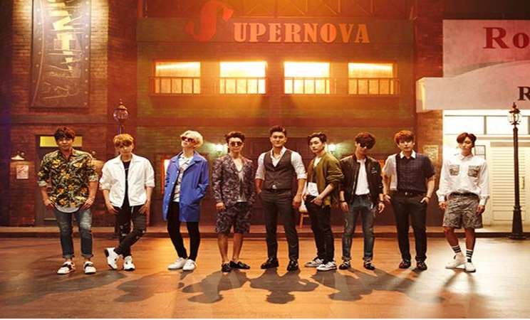 Kelompok vokal super Junior - SM Entertainment